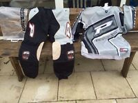Pro grip motor cross trousers and top