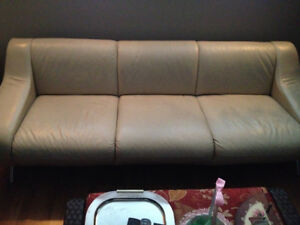 EQ3 Leather Sofa