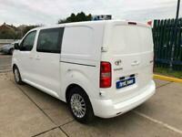 2018 Toyota Proace 1.6D 115 Comfort CREW VAN PANEL VAN Diesel Manual