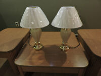 For sale: A set of 2 lamps