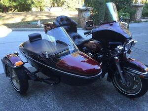 1995 Harley Davidson Electra Glide Classic with Sidecar