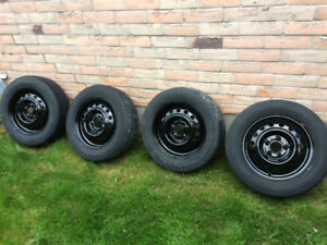 """15"""" steel rims for sale. 5x114  (5x114.3 ) great condition"""