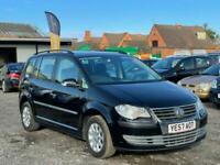 * 57 2008 VW VOLKSWAGEN TOURAN 1.6L PETROL + 7 SEATER + HPI CLEAR + 2 KEYS*