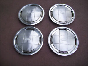 Vintage Ford Wheel Covers Excellent Condition