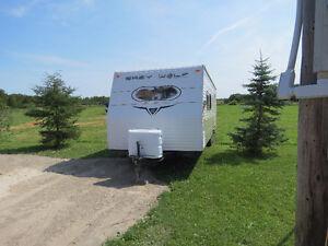 26 ft grey wolf trailer