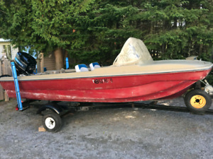 14ft boat ( reduced)