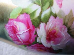 Rare Antique, Rose, Hand Painted Porcelain Vase, MZ Austria Stratford Kitchener Area image 10