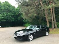 2007 Saab 9-5 1.9 TID Auto Vector Sport Anniversary 5 Door Estate Black
