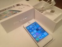 UNLOCKED IPHONE 4S 16GB BOXED GREAT CONDITION