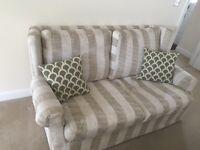 Cream cloth sofa 2 seater