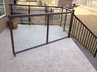 Aluminum and Steel railings