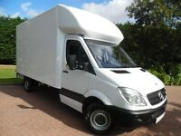 LOCAL MAN AND VAN SERVICES, Large Luton Van for Hire Collections, Deliveries or Removals VERY CHEAP