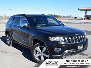 2016 Jeep Grand Cherokee Limited 4x4 w/Sunroof  20 inch rims