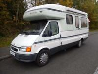 Autosleeper Legend 1999 2 Berth Rear U Shaped Lounge Motorhome For Sale