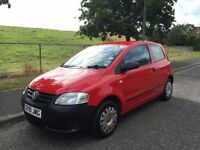 2010 VW VOLKSWAGEN FOX 1.2, PETROL, MANUAL, 3-DOOR HATCHBACK ***LONG MOT***GENUINE 59,000 MILES