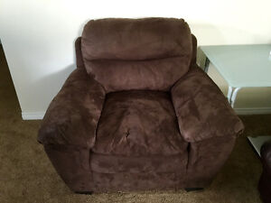 Brown Cloth Chair FOR SALE