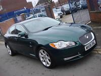 2008 08 PLATE Jaguar XF 2.7TD 2009MY Luxury 4dr Automatic in Green