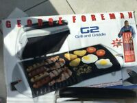 George Forman grill and griddle