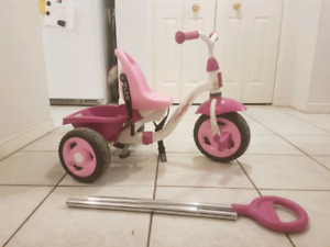 GIRLS PRINCESS TRICYCLE.