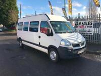 Vauxhall MOVANO (10 seater) MINIBUS
