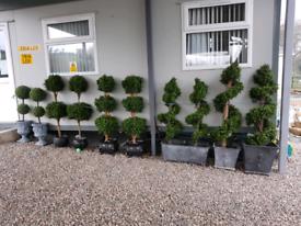 ARTIFICIAL OUTDOOR TREES FOR GARDENS & PATIOS