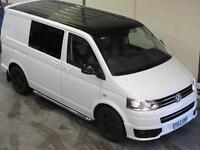Volkswagen Transporter Sportline SWB KOMBI 180ps 2.0BiTDi DSG 7 Speed WHITE
