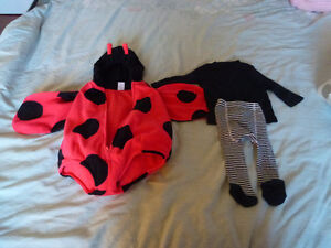 Infant / Baby Lady Bug Halloween Costume size 6-9 months Kingston Kingston Area image 1
