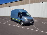 2012 12 PLATE FORD TRANSIT 125 T350 LWB ONBOARD COMPESSOR