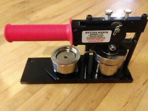 """Brand New 1-3/4"""" Tecre Button Makers on Sale Now!"""