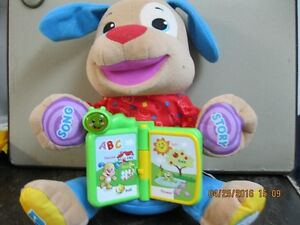 FISHER PRICE  LAUGH AND LEARN PUPPY   DOG