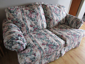 Super Comfortable Loveseat and Armchair in New Condition