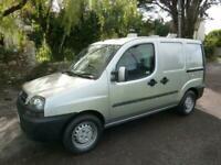 2003 Fiat Doblo 1.9JTD SX Van CATERING VAN Panel Van Diesel Manual