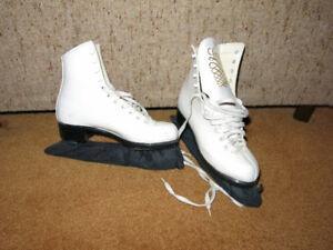 Girls Size 4 Lange ice skates