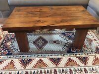 Handmade Solid Wood Coffee table (150 OBO)