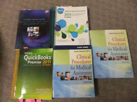 MEDICAL OFFICE ASSISTANT BOOKS -SEE PIC.OBO.