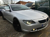 ✿05-Reg BMW 6 series 630 3.0 auto, Silver ✿NICE EXAMPLE ✿FULLY LOADED SPEC✿