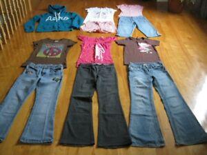 Lot de vêtements grandeur 12 ans