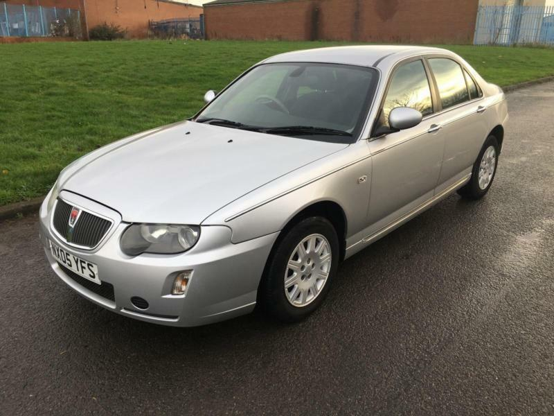 rover 75 1 8 classic 2005 with low miles only 56k full. Black Bedroom Furniture Sets. Home Design Ideas