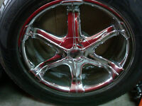"""20"""" ANTERA WHEELS WITH RUBBER"""