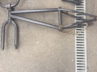 BMX Frame and parts