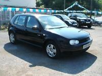 Xreg Volkswagen Golf 1.9TDI GT 5dr,5sp,diesel trade sale 01656 724800.