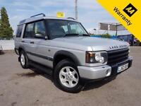 2002 LAND ROVER DISCOVERY 2.5 TD5 GS 5D 136 BHP! FULL SRVC HISTRY! DUAL SUNROOF