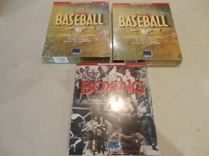 Warwick History of Baseball /Boxing Multimedia Encyclopedia's