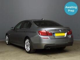 2013 BMW 5 SERIES 520d M Sport 4dr Step Auto [Start Stop]