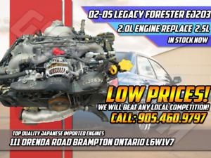 02-05 Subaru Legacy Forester 2.0L Engine Instead of 2.5L EJ253