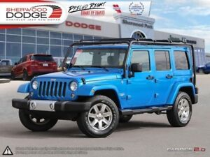 2015 Jeep Wrangler Unlimited Sahara  HEATED SEATS | NAV | BLUETO