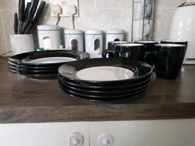 two tone plate set