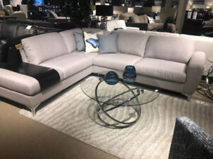 Steal of a DEAL - Canadian Made Fabric Sectional