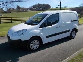 PEUGEOT PARTNER 1.6 625 SE HDI VAN 14 REG 26,200 MILES THREE SEATER