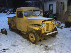 Pickup Willys 59